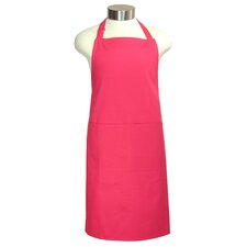 "<strong>MU Kitchen</strong> MUincotton 35"" Full Apron in Crimson"