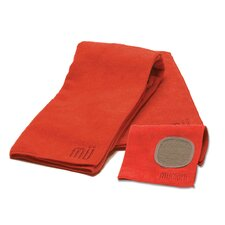 MUmodern Dishcloth and Dishtowel Set in Crimson