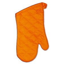 "MUincotton 13"" Oven Mitt in Orange"