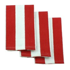 MUincotton Dish Cloth in Punch Stripe (Set of 3)