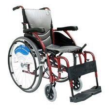 Ergonomic Ultra Lightweight Wheelchair with Quick Release Axles