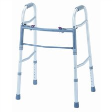 <strong>Karman Healthcare</strong> Folding Walker in Silver