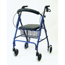 "<strong>Karman Healthcare</strong> Rollator with Loop Brakes and 8"" Wheels"