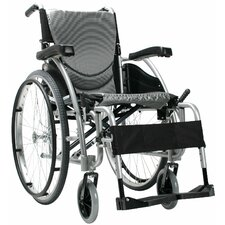 <strong>Karman Healthcare</strong> Ergonomic Lightweight  Wheelchair