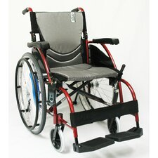 <strong>Karman Healthcare</strong> Ergonomic Ultra Lightweight Wheelchair
