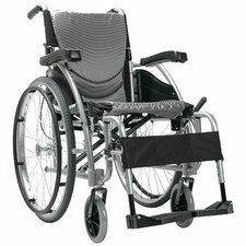 Ergonomic Ultra Lightweight Wheelchair with Quick Release Wheels