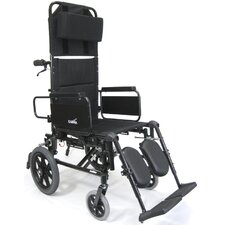 Ultra Lightweight  Reclining Transport Wheelchair