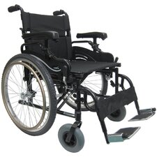 "<strong>Karman Healthcare</strong> 20"" Aluminum High Strength Bariatric Wheelchair"