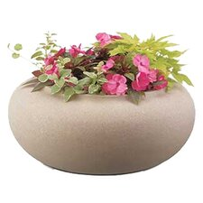 "21"" Garden Hose Pot in Sand Stone"