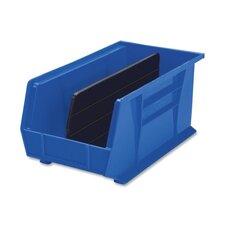 "Bins, Unbreakable/Waterproof, 8-1/4""x14-3/4""x7"" Blue"