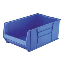 <strong>Akro-Mils</strong> Super-Size Storage Bin, Stackable, Blue, 2 Sizes