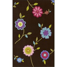 4-Ever Young Flower Kids Rug