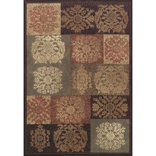 Capri Patchwork Sable Rug