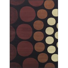 Carlisle Black Circle Rug