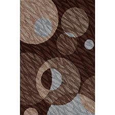 Studio Chocolate Circle Rug