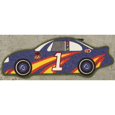 All Stars Race Car Kids Rug