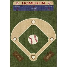 All Stars Baseball Ground Kids Rug