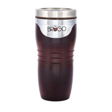 <strong>Brugo</strong> Leak Proof Thermodynamic Travel Mug in Executive Truffle