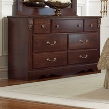 <strong>Standard Furniture</strong> Carrington 6 Drawer Standard Dresser