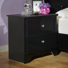 Marilyn 2 Drawer Nightstand