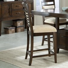 "Avion 24"" Bar Stool with Cushion"