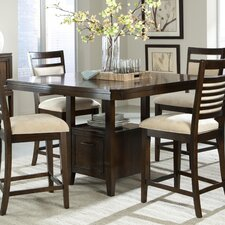 Avion 5 Piece Counter Height Dining Set