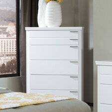 Metropolitan 5 Drawer Chest