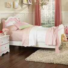 Bubblegum Sleigh Bed