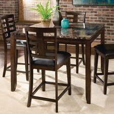 Bella 5 Piece Counter Height Dining Set