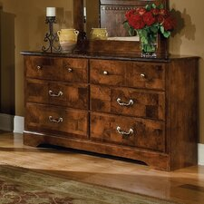 San Miguel Double 6 Drawer Dresser