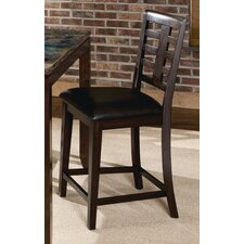 Bella Stool in Deep Brown