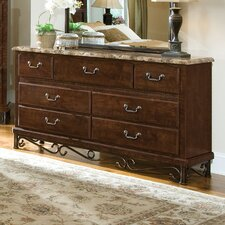 Santa Cruz 7 Drawer Dresser