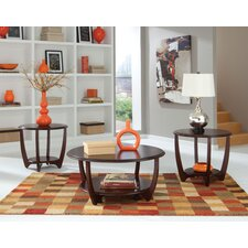 Seattle II 3 Piece Coffee Table Set