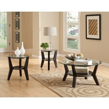 Orbit 3 Piece Coffee Table Set