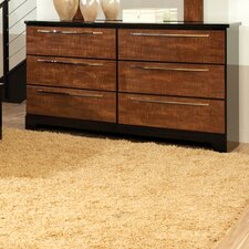 Eclipse 6 Drawer Standard Dresser