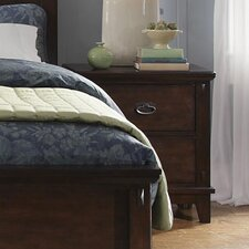 Sonoma Standard 2 Drawer Nightstand