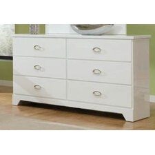 Meridian 6 Drawer Dresser