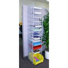 12 Pockets Free Standing Organizer with Letter Depth