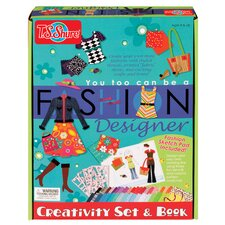 You Too Can be a Fashion Designer Creativity Set and Book