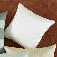 Marina Chevron Quilted Decorative Pillow