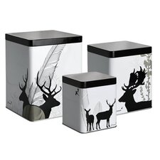 By Brorson 3 Piece Tin Set