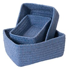 No-Scratch Chenille Nesting Basket Set