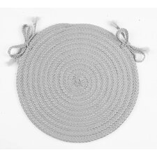 Spring Meadow Round Braided Chair Pad