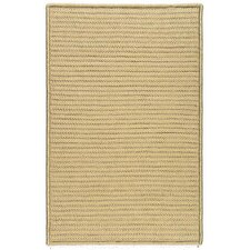 Simply Home Solid Buff Indoor/Outdoor Rug