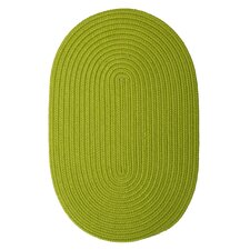 Boca Raton Bright Green Outdoor Rug