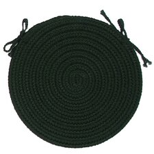 Deerfield Round Braided Chair Pad