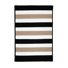 Portico Sharp Black Indoor/Outdoor Rug