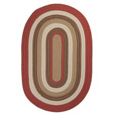 <strong>Colonial Mills</strong> Brooklyn Terracotta Braided Rug