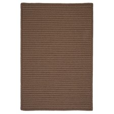 Simply Home Solid Cashew Indoor/Outdoor Rug