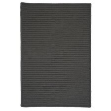 Simply Home Solid Gray Indoor/Outdoor Rug